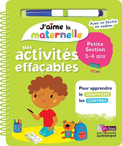 J Aime La Maternelle Mes Activites Effacables Petite Section