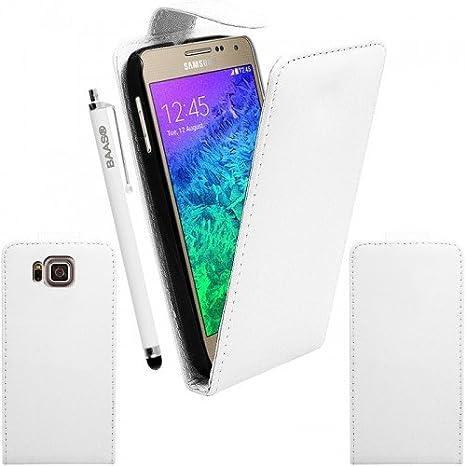 BAAS-Carcasa para Samsung Galaxy Alpha-Funda de piel con ...