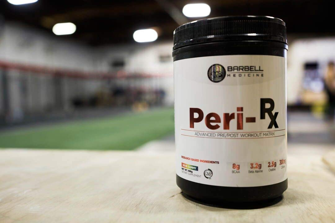 Barbell Medicine, Peri-Rx Post & Pre-Workout Powder, BCAA, Creatine Monohydrate, Beta Alanine, Citrulline Malate, HMB, Betaine Anhydrous, Caffeine Free, Watermelon, 687g by GainzZz Rx (Image #3)