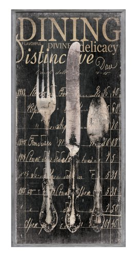 wood fork and spoon wall art - 6