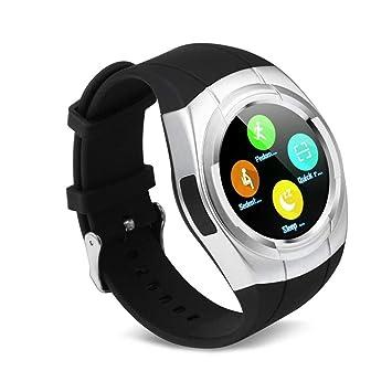 HCWF Smart Watch - Tarjeta SIM Redonda con Whatsapp Facebook ...