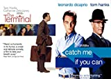 Tom Hanks Acting/ Steven Spielberg Directing... On Planes and in Airport Terminals- Catch Me If You Can & The Terminal (2-DVD Bundle)
