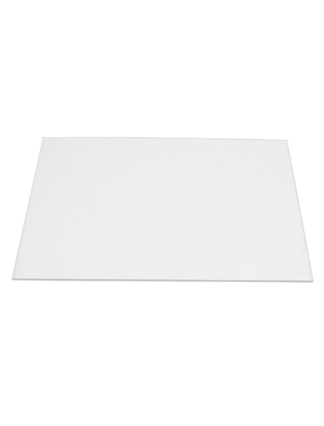 2mm Klare Plexiglas Acryl Ausschnitt Plexiglas Blatt A4 Gr/ö/ße 210 mm x 297 mm