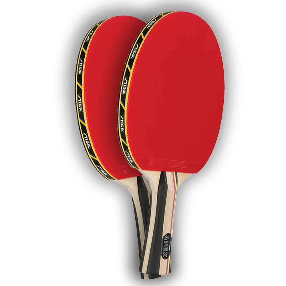 STIGA Set of 2 Apex Premium Competition Ping Pong Paddles