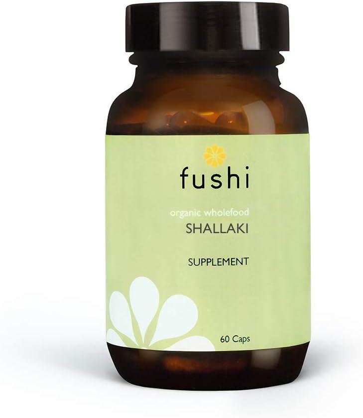 Fushi Organic Shallaki Concentrated 500mg Veg Caps 60 Caps