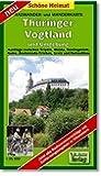 Radwander- und Wanderkarte Thüringer Vogtland und Umgebung: Ausflüge zwischen Triptis, Weida, Seelingstädt, Auma, Zeulenroda-Triebes, Greiz und Netzschkau. 1:35000 (Schöne Heimat)