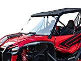 SuperATV Heavy Duty Scratch Resistant Full Windshield for Honda Talon 1000X / 1000R (2019+) - Clear - Hard Coated for Extreme Durability - Installs In 5 Minutes!