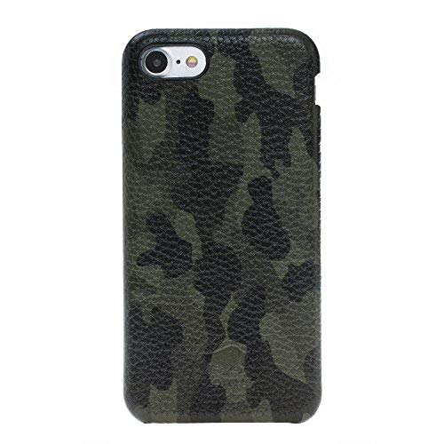 - Solo Pelle iPhone 7/8 Leather Carrying Case Fullcover Made of Soft Leather in Premium Quality in Camouflage Green incl. Gift Packaging