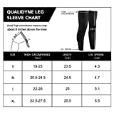 qualidyne Leg Sleeves, Calf Compression Sleeve