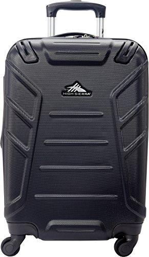 """High Sierra Rocshell Hardside 20"""" Spinner Luggage - Black"""
