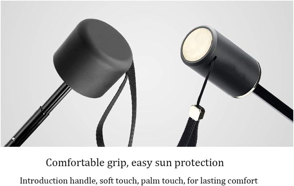 Portable Black Plastic Sunscreen Umbrella Super Light Rainproof Sunscreen Rain Dual-use Collapsible Sun Umbrella