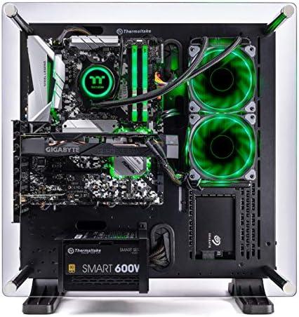 Thermaltake LCGS Shadow III AIO Liquid Cooled CPU Gaming PC (AMD RYZEN 5 3600 6-core, ToughRam DDR4 3200Mhz 16GB RGB Memory, RTX 2060 Super 8GB, 1TB SATA III, WiFi,Win 10 Home) P3BK-B450-STL-LCS, 51S4tX15ekL