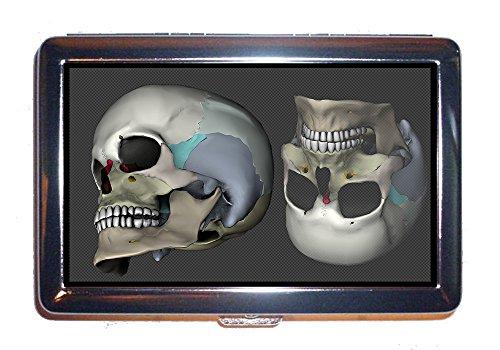 Cigarettes Case Skull Head 3D Model Rendering Medical Virtual  Cigarettes Box