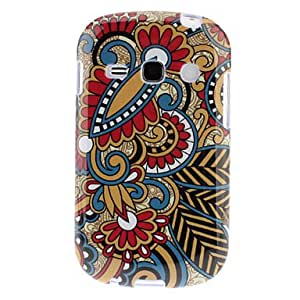 get Drawing Flowers Pattern TPU Soft Back Case Cover for Samsung Galaxy Fame S6810