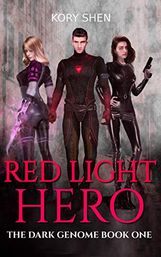 Biopunk Costumes - Red Light Hero: A Superhero Dark