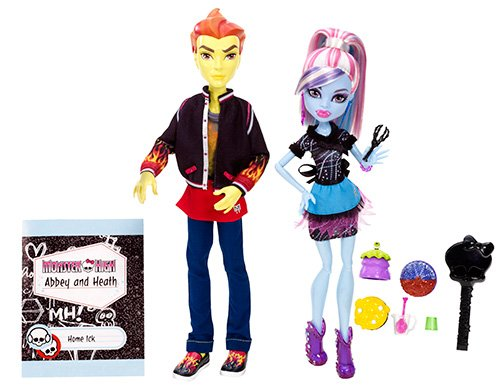 Monster-High-Pareja-abominable-Abbey-Bominable-y-Heath-Burns-Thomas-Cram-compaeros-de-cocina-Mattel-BBC82