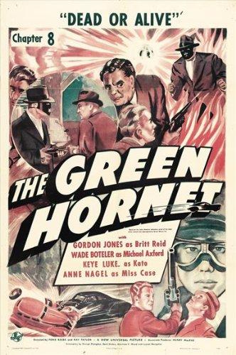 The Green Hornet Poster Movie B - Dvd The Hornet Tv Green