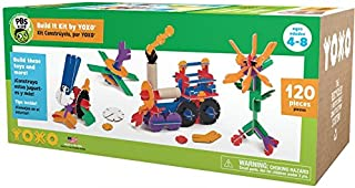 product image for PBS Kids Build It Kit by YOXO - 120 Pieces - Creative Building Toy System