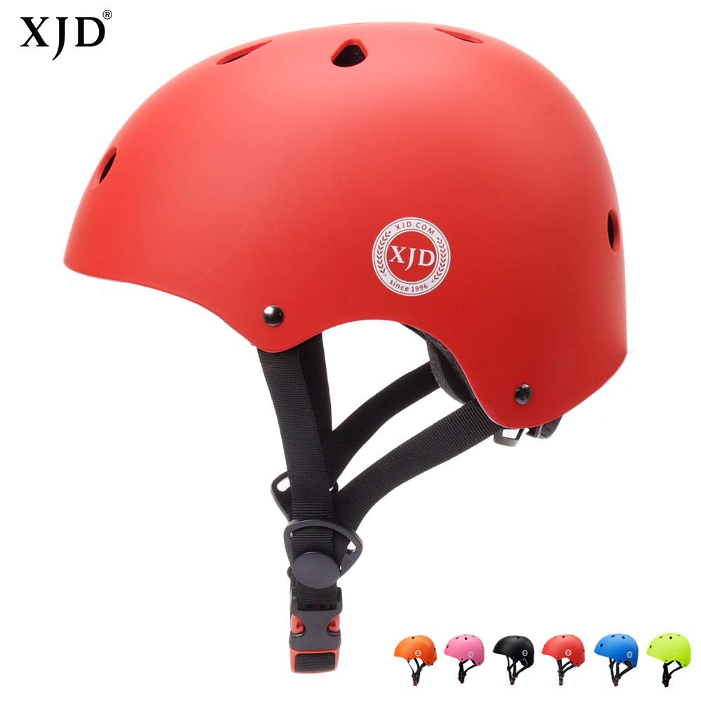 XJD Adjustable Toddler Helmet Kids Bike Helmet CE Certified, Impact Resistance Ventilation for Multi-Sports, Scooter Roller Bicycle BMX Cycling Skateboard,for Child Boys Girls Ages 3 to 8 Years Old XJD-KH103