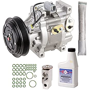 AC Compressor w/A/C Repair Kit For Toyota Echo 2000 2001 2002 2003 2004 2005 - BuyAutoParts 60-81201RK NEW