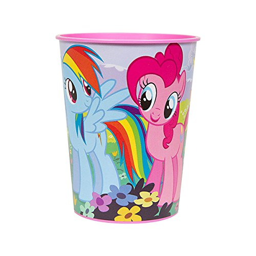16oz My Little Pony Birthday Party Plastic Loot Treat Favor Keepsake cups (12)]()
