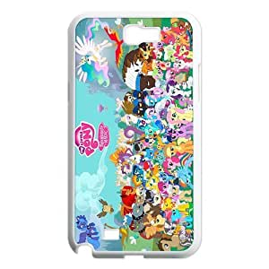 Custom My Little Pony Hard Back Cover Case for Samsung Galaxy Note 2 NT607