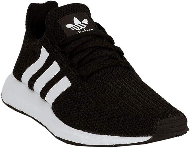 Womens adidas Swift Run Athletic Shoe Black Black White