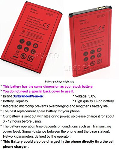 High-Performance 2700mAh Rechargeable Extended Slim Battery for LG K10 K425 AT&T Android Phone