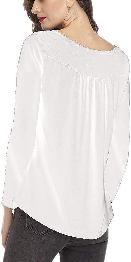 Poachers Tops Deportivos Mujer Camisetas Mujer Verano Anchas Blusas para Mujer Talla Grande Blusas Mujer Tallas Grandes Elegantes Camisas Mujer Verano Vestir Manga Larga: Amazon.es: Ropa y accesorios