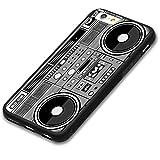 Retro boom box Old school ghetto blaster Custom Phone Case For iPhone 6s Plus 5.5