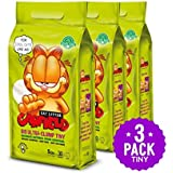 Garfield Cat Litter | All natural, fast clumping, purrfect for multi-cat homes | DUST FREE, CHEMICAL FREE, CLAY FREE | Biodegradable & Flushable. Tiny Grains, 15 lbs.