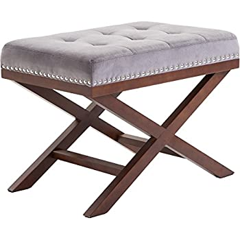 best ottoman about pinterest bench william x images furniture on fantastic benchstool