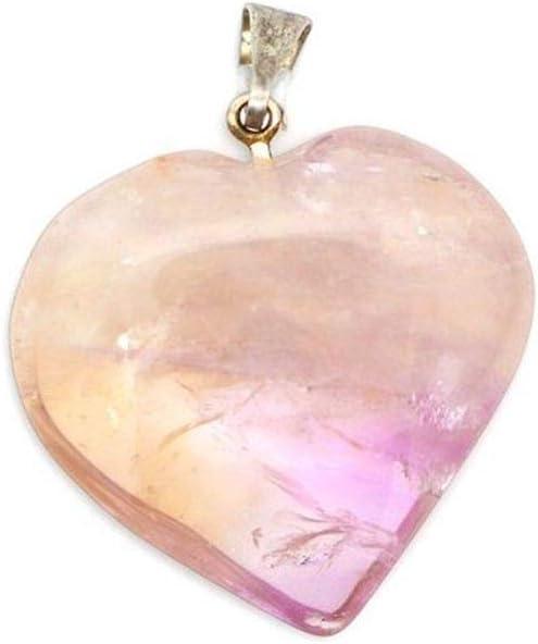 Colgante Corazon de Amatista Minerales y Cristales, Belleza energética, Meditacion, Amuletos Espirituales