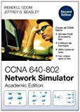 CCNA 640-802 Network Simulator, Academic Edition, Wendell Odom and Jeffrey S. Beasley, 1587204452