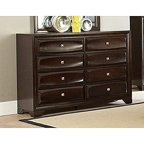 Amazon.com: Coaster Muebles Jaxson 8 cajón Dresser: Kitchen ...