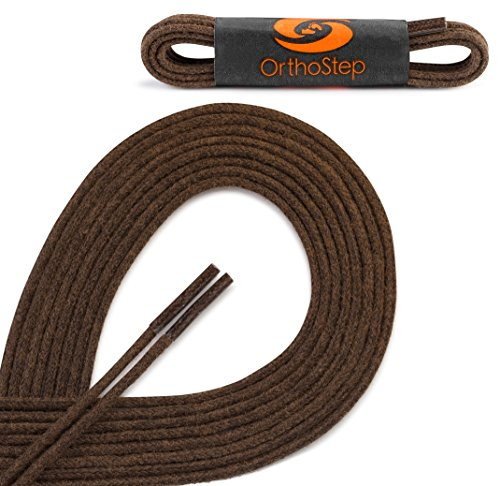 OrthoStep Waxed Extra Dress Shoelaces