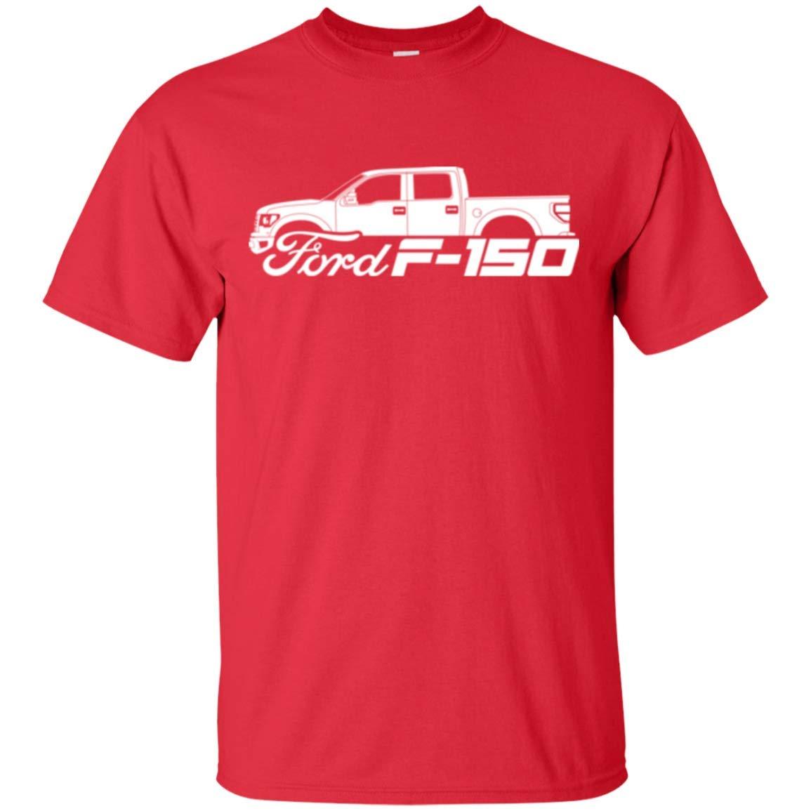 Wheel Spin Addict Mens F-150 King Ranch Lariat Platinum FX4 T-Shirt F150