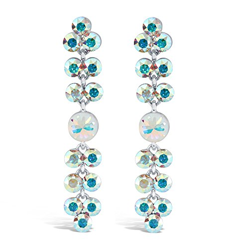 Bermuda Crystal Chandelier Earrings (Crystal AB)