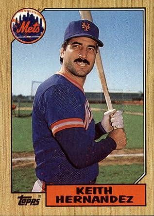 Amazoncom 1987 Topps Baseball Card 350 Keith Hernandez