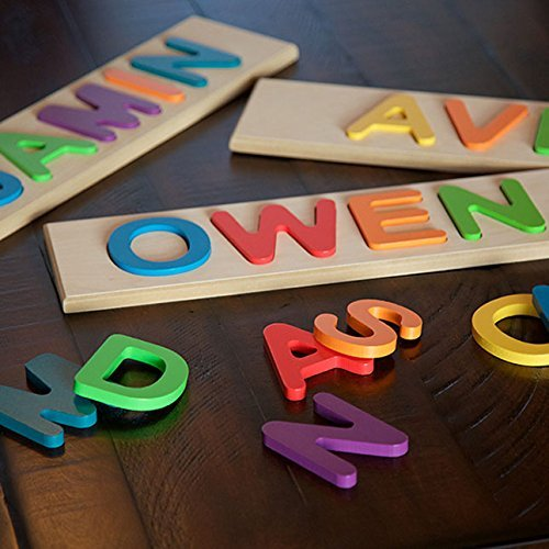 Fat Brain Child's Personalized Name Puzzle- Up to 9 Letters