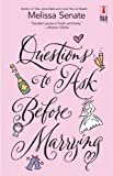 img - for Questions To Ask Before Marrying (Red Dress Ink Novels) book / textbook / text book