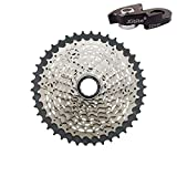 JGbike Shimano 10-Speed Cassette 11-42T Tiagra CS-HG500 Wide Ratio MTB Cassette, for 11-32 11-34 11-36 11-40T Upgrade