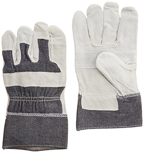 Total Source Manufacturing LGP1010-P Leather Palm Gloves ...