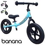 Banana Bike Balance Bike for Kids - 2, 3 & 4 Year Olds - Lightweight LT (Blue)