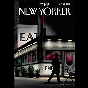 The New Yorker, March 22, 2010 (Jeffrey Toobin, Elizabeth Kolbert, John McPhee) Periodical