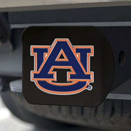 Auburn Metal - FANMATS NCAA Auburn Tigers Auburn Universitycolor Hitch - Black, Team Color, One Size