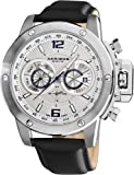 Akribos XXIV Men's AKR469WT Conqueror Multifunction Stainless Steel Swiss Quartz Strap Watch