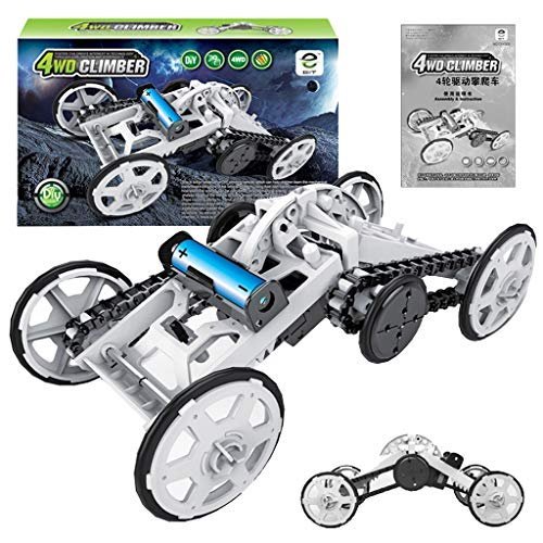 - STEM Toy 4WD Car Sunsee Assembly Kit,Four-Wheel Drive DIY Climbing Vehicle, Circuit Building Projects for Kids and Teens | DIY Science Experiments & Circuit Building Projects