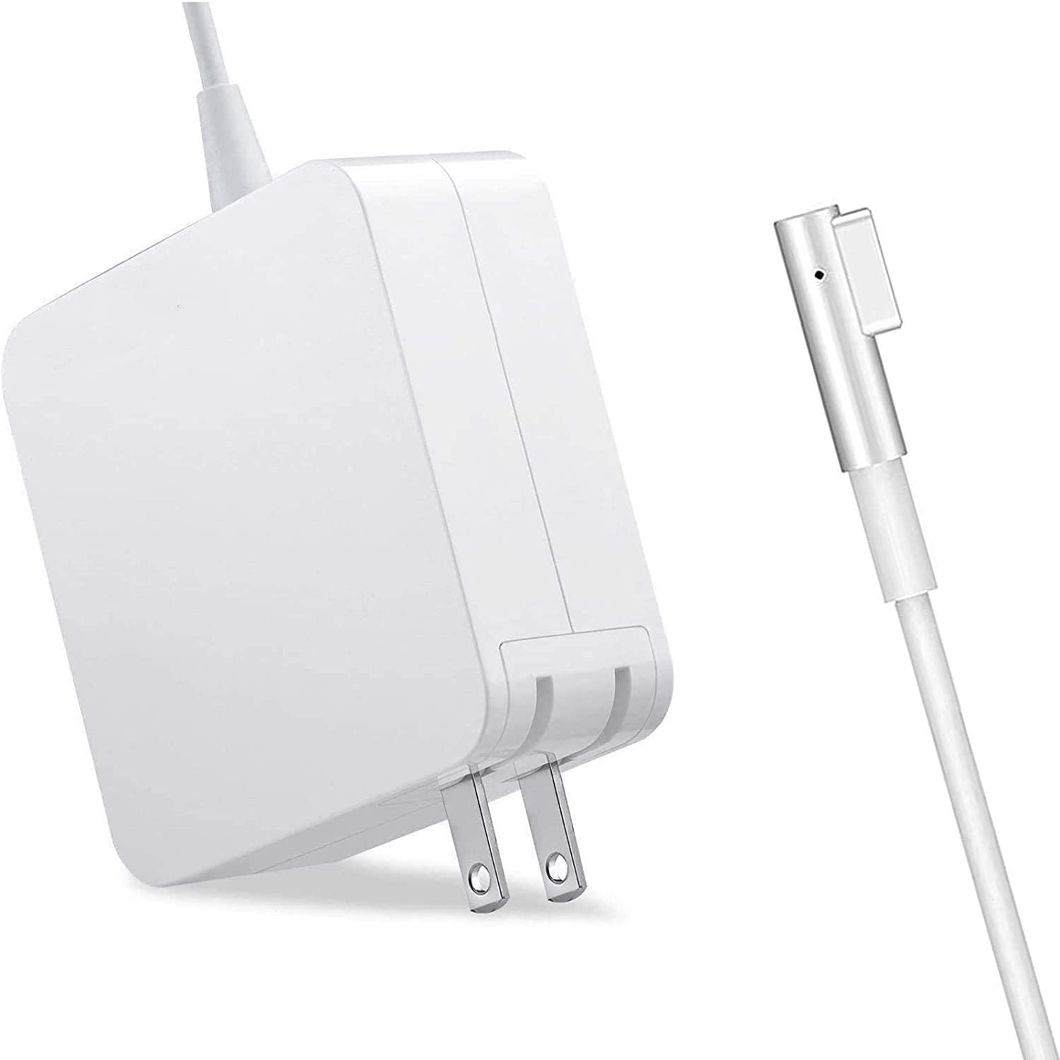 Replacement for Mac Book Pro 13 Inch Display AC 60W L-tip Connector Power Adapter(Before Mid 2012)