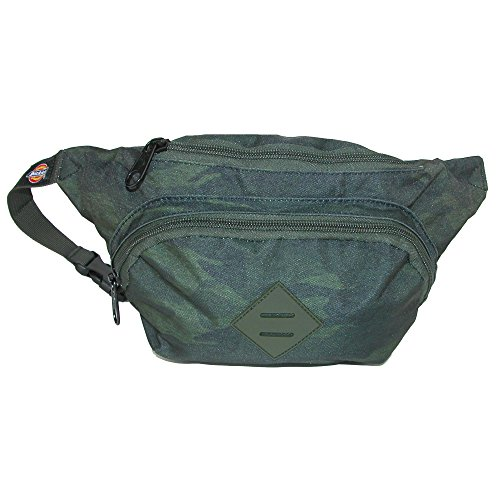 Dickies Multi Pocket Canvas Waist Pack, Heather Camo